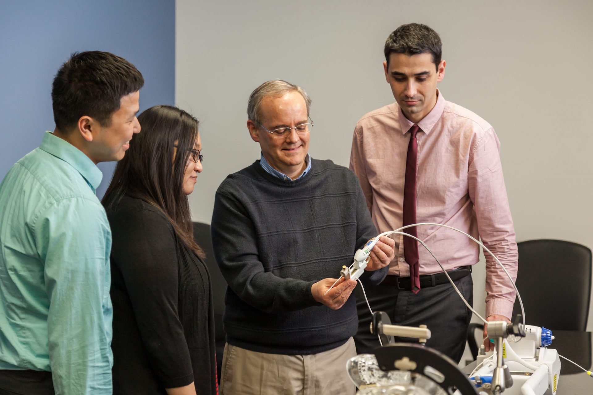 Medical Device Demonstration Photography